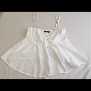 White Abercrombie & Fitch Top